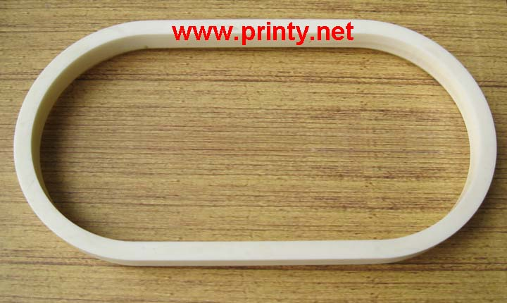 Oval elliptical ceramic rings,oval ceramic rings for pad printing machine equipment