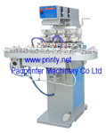 Pneumatic 4 Color Conveyor Ink Cup Pad Printer