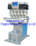 Automatic 6 Color Conveyor Ink Cup Pad Printer